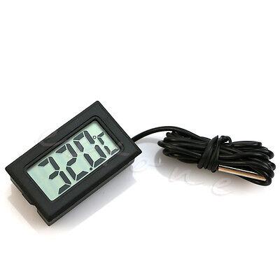 Refrigerator Thermometer Electronic Aquarium Waterproof Probe Digital Display