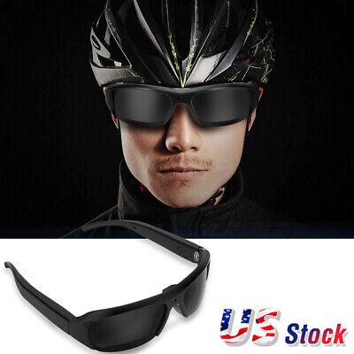 Mini 1080P HD Camera Sunglasses Outdoor Eyewear DV Recorder Sports Smart (1080p Sunglasses)