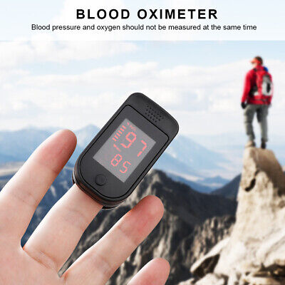 Digital Finger Tip Pulse Oximeter Case Heart Rate Monitor Blood Oxygen Sensor