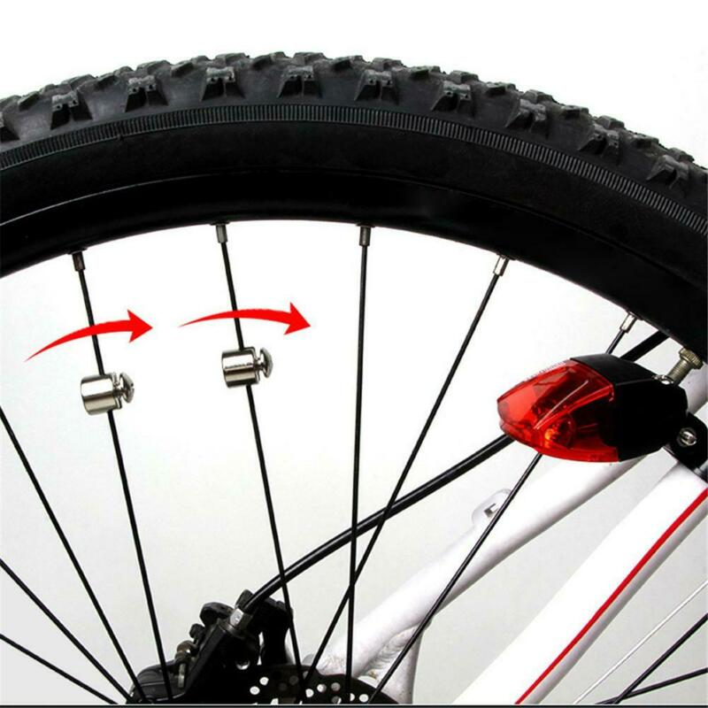 Induction Tail Light Bike Bicycle Warning Lamp Magnetic power generate taillight