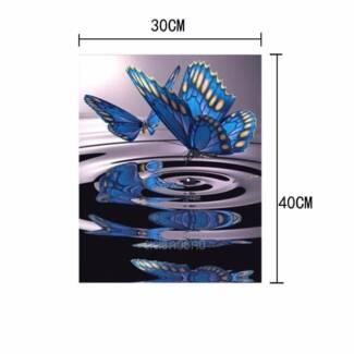 5D Butterfly Diamond Painting Cross Stitch DIY - NEW