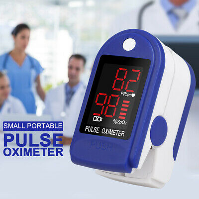 Pulse Oximeter Blood Oxygen Saturation Spo2 Meter Finger Fingertip Pr Monitor Us