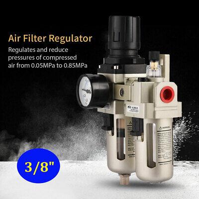 1pc Ac3010-03 Heavy Duty Air Compressor Filter Regulator 38 Pneumatic Tools Us