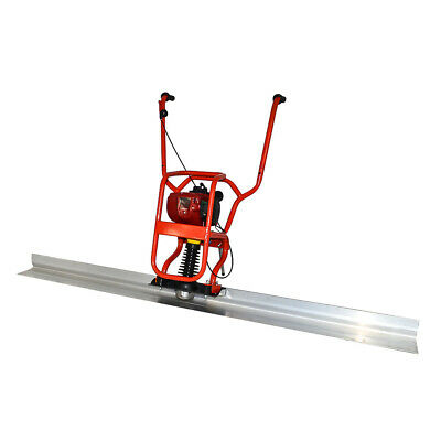Hq 37.7cc 4 Stroke Gas Concrete Wet Screed Power Screed Cement 6.56ft Board