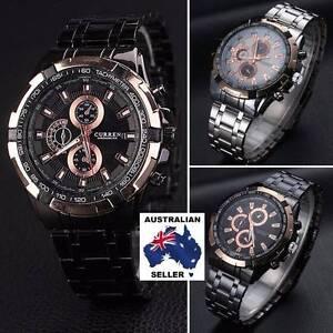 NEW Luxury Elegant Wrist Watch CURREN Men's Analog Sport Military Baldivis Rockingham Area Preview