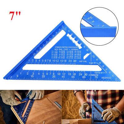 Dreieckslineal 7 Metrisch Aluminiumlegierung Winkelmesser Schreiner Werkzeug