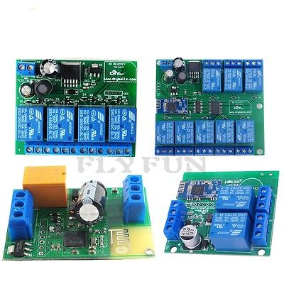 2 Channel 4 Channel 8 Channel Relay Module Bluetooth 4.0 Ble 4.1 For Ios Android