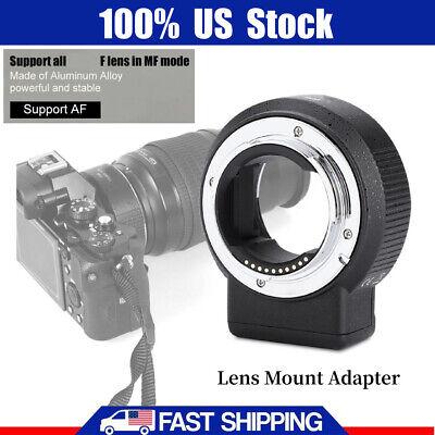 Commlite Adapter ENF-E1 PRO V06 Lens Mount for Nikon F Lens to Sony E-mount