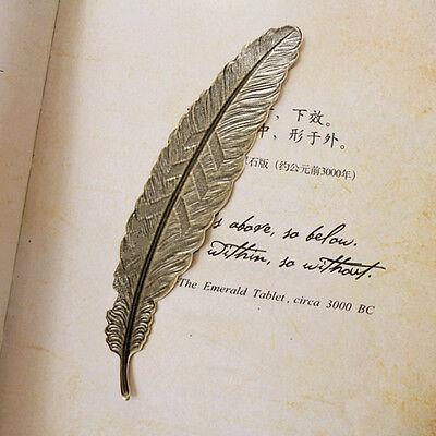 2pcs Vintage Metal Copper Bookmark For Book Document Mark Label DIY Gift Popular