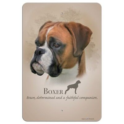Boxer Dog Breed Home Business Office Sign
