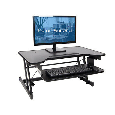 Polar Aurora Standing Desk Height Adjustable Stand up Desk 32