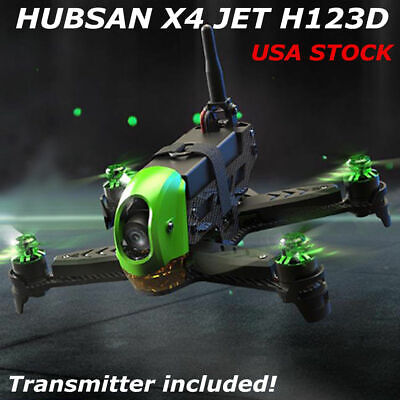 Hubsan H123D X4 Jet Racing Qudcopter Drone Brushless FPV 720P+Flaming Video+Battery