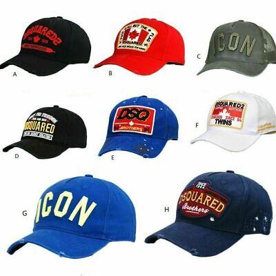 DSQUARED2 CAP ICON DSQICOND2 BLACK CAPS SNAPBACKS BASEBALL CAP HAT NEW Gift