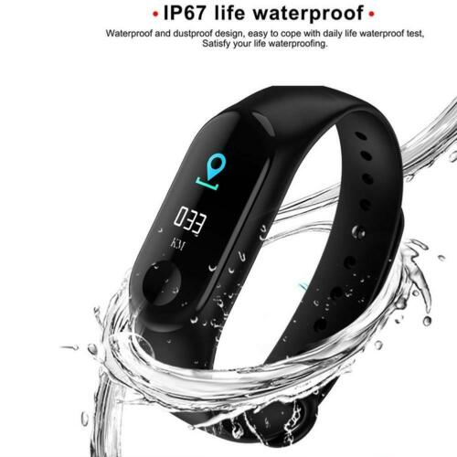 как выглядит Smart Band Watch Bracelet Wristband Fitness Tracker Blood Pressure HeartRate New фото