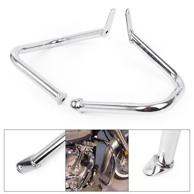 Used, Chrome Engine Guard Highway Crash Bar For Yamaha Dragstar V-Star 400 650 Classic for sale  Shipping to Canada