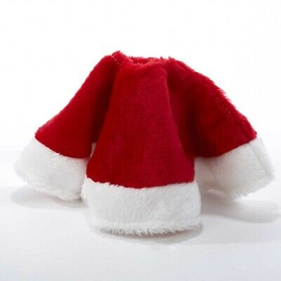 15 Inch Miniature Plush Red and White Christmas Tree Skirt MINI C1886 New