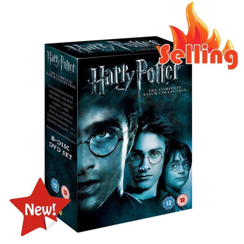 harry potter 1-8 films dvd collection complète film dvd disques boîte set scellé