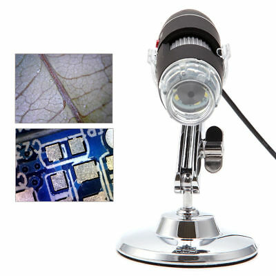 Portable 40x-1000x 2mp Microscope Usb Digital Endoscope Magnifier Camera 8 Led