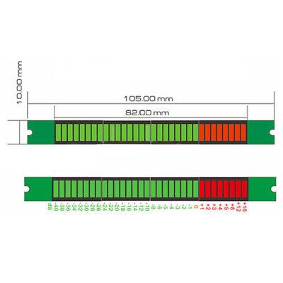 32 LED Bars Level Indicator VU Meter Music Sound Audio Display Analyzer Protable