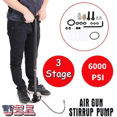 PCP Airgun High Pressure Hand Pump 40mpa 310bar 6000psi for Air Rifle Brand USA