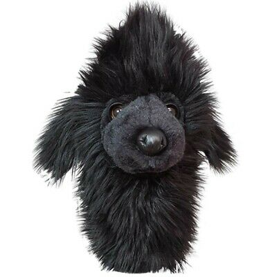 Black Poodle Golf Animal Hybrid Headcover - New Daphne's Head Covers