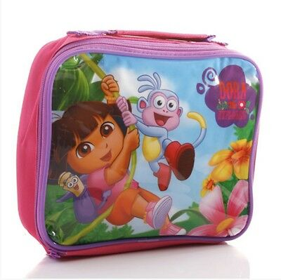 DORA THE EXPLORER INSULATED LUNCH BAG CHILDS KIDS NURSERY SCHOOL BNWT