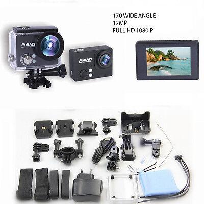 SJ4000 12MP FULL HD 1080P Sports Action Waterproof Camera  +accessories fr Gopro