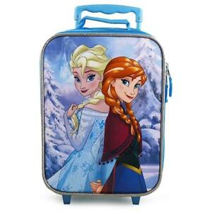 Disney Frozen Rolling Luggage Trolley [Anna and Elsa]