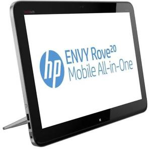 "HP ENVY Rove 20 Mobile All-In-One - i3 1.7GHz (4010U)- 8GB RAM - 160GB HardDrive 20"" Touch Screen - 6-Cell 62Whr Battery"