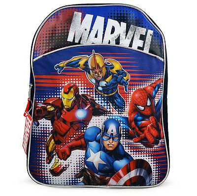 Marvel Comics Super Heroes Avengers Spider-Man Kids Boys School Backpack Bag 15