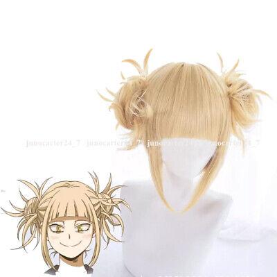 Anime My Hero Academia Himiko Toga Blond Perücke Haar Cosplay Kostüm Mein Held