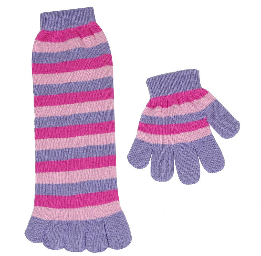 Mysocks Kids Toe socks and Gloves Set