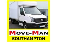 MAN and VAN Removals, House/Flat Moves, Office Moves - SOUTHAMPTON