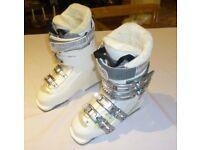 Ladies Salomon Ski Boots with Bag