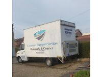 Man and van Hire Luton van with tail lift 7 days a week man with a van house removals small moves