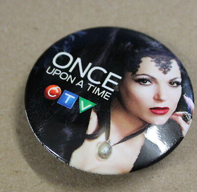 The Evil Queen Once Upon A Time (ONCE UPON A TIME DVD TV SHOW PROMOTIONAL PIN OF LANA PARRILLA AS THE EVIL)