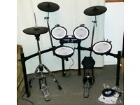 Roland V DRUMS TD-4KX2 & Goedrum moving Hi Hat like VH-11 Electronic Drum Kit & hardware NICE