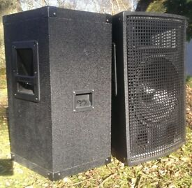 RCL Passive PA Speakers - 10 inch