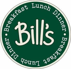 Wait and Bar Staff – Bill's Restaurants - Covent Garden, Central London