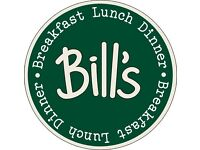 Wait Staff – Bill's Restaurants – New Opening - Braintree