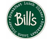 Barista Staff – Bill's Restaurants – New Opening - Braintree
