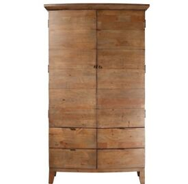 Reclaimed and Recycled Wood Wardrobe