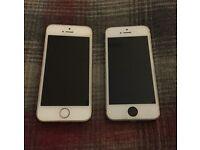 X2 IPhone 5s - SPARES OR REPAIRS