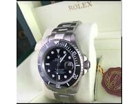 Rolex submariner £80 Swiss top sweeping Movement don't miss out