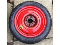 Ford space saver wheel, Pirelli, 125 80 15, 4Jx15x40