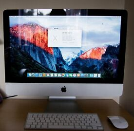 "Apple iMac 21.5"" (late 2009) Inc Wireless keyboard and Magic mouse"