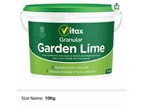 Vital Granular Garden Lime 10kg Tub