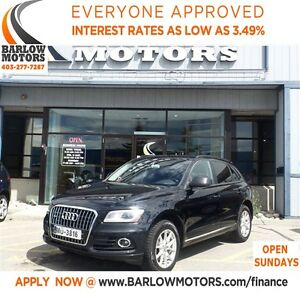 2013 Audi Q5 2.0T*AMVIC INSPECTION & CARPROOF PROVIDED