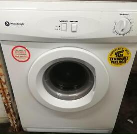 White knight vented tumble dryer £40