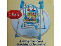 Fisher Price Swing/Rocker/Toddler chair